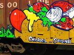 Graffiti on Freight # 2