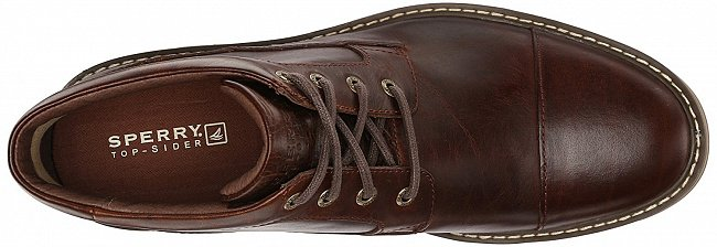 Sperry Boat Oxford Chukka Dark Tan