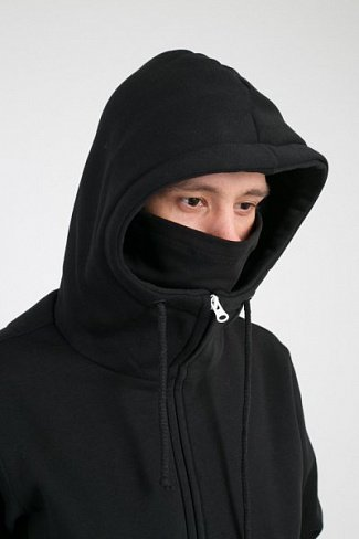 Толстовка Codered Mask Zip черный