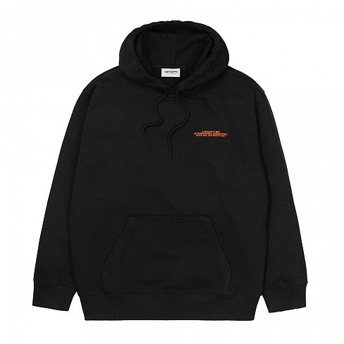 Толстовка Carhartt WIP International Operations Sweatshirt Black