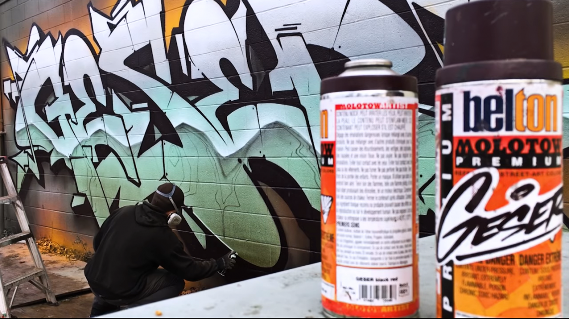 SPRAYDAY - Episode 09 - GESER [USA] | Graffitimarket.ru